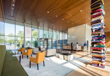The Bill and Melinda Gates Foundation office space