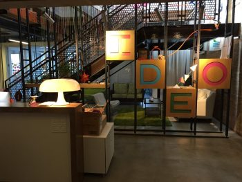 The Ideo office space